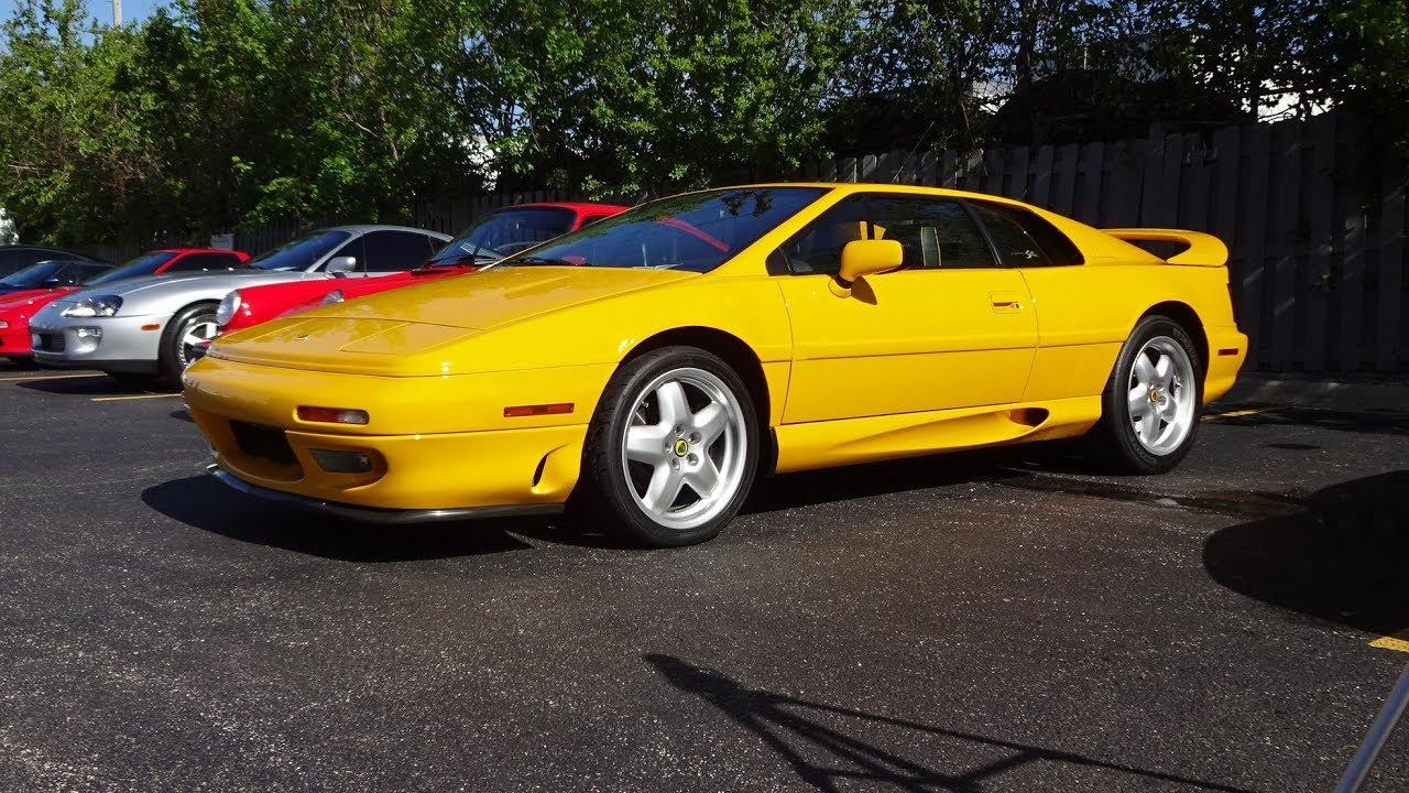1995 lotus esprit s4s in norfolk mustard yellow engine sound on 1995 lotus esprit s4s in norfolk mustard yellow engine sound on my car story with lou costabile vanachro Choice Image