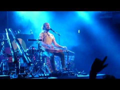 Xavier Rudd - Food In The Belly - live Backstage Werk Munich 2013-06-17