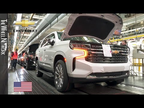 2021 Chevrolet Suburban And Tahoe Manufacturing At The Arlington Plant In Texas