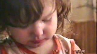 моя дочь сейчас и 22 года назад