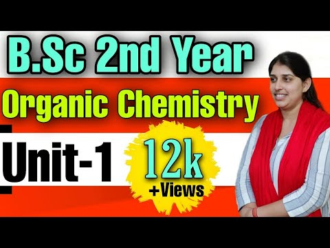 B.Sc 2nd Year |Organic chemistry Unit-1 |Important Questions