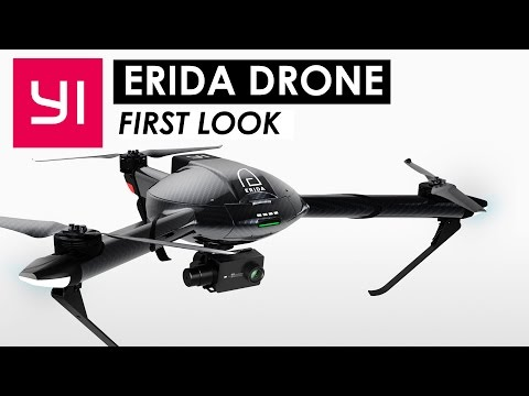 YI Erida Drone First Look! — Flight Speeds of up to 75 MPH! (120 km/h)