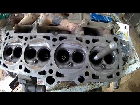 Замена направляющих втулок клапанов, Volkswagen Passat B3.