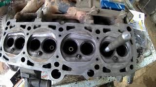 замена направляющих втулок клапанов, Volkswagen Passat B3