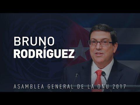 Discurso de Bruno Rodríguez en la 72.ª sesión de la Asamblea General de la ONU (VERSIÓN COMPLETA)