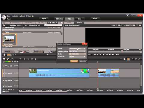 Timeline Einstellungen in Pinnacle Studio 16 und 17 Video 16 von 114