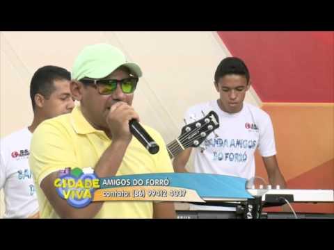 Amigos do Forró animam o programa Cidade Viva