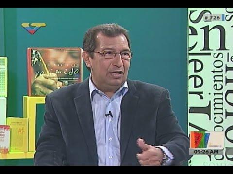 Ministro Adán Chávez en el programa La Librería Mediática de VTV