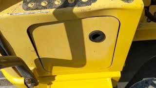 2008 Komatsu PC138US LC-8 Hydraulic Excavator: Walk-Around inspection Video 2 of 3
