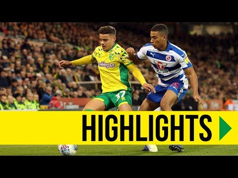 HIGHLIGHTS: Norwich City 2-2 Reading