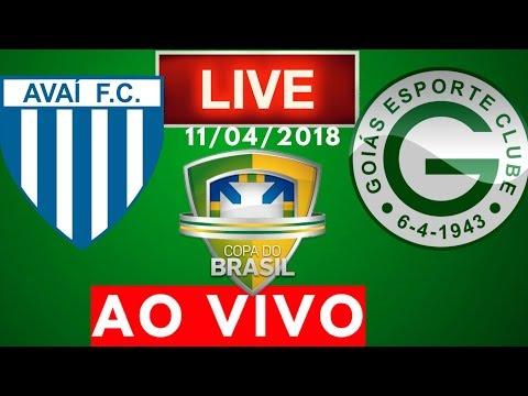 Avai 2 x 2 Goiás | AO VIVO | Copa do Brasil 11/04/2018 NARRAÇÃO
