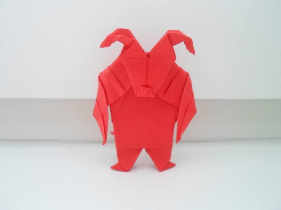 Origami Devil Ladislav Kanka