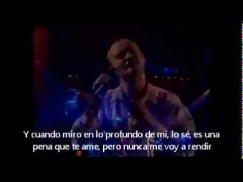 Phil collins CAN'T TURN BACK THE YEARS (Live, 1995) SUBTITULADO AL ESPAÑOL