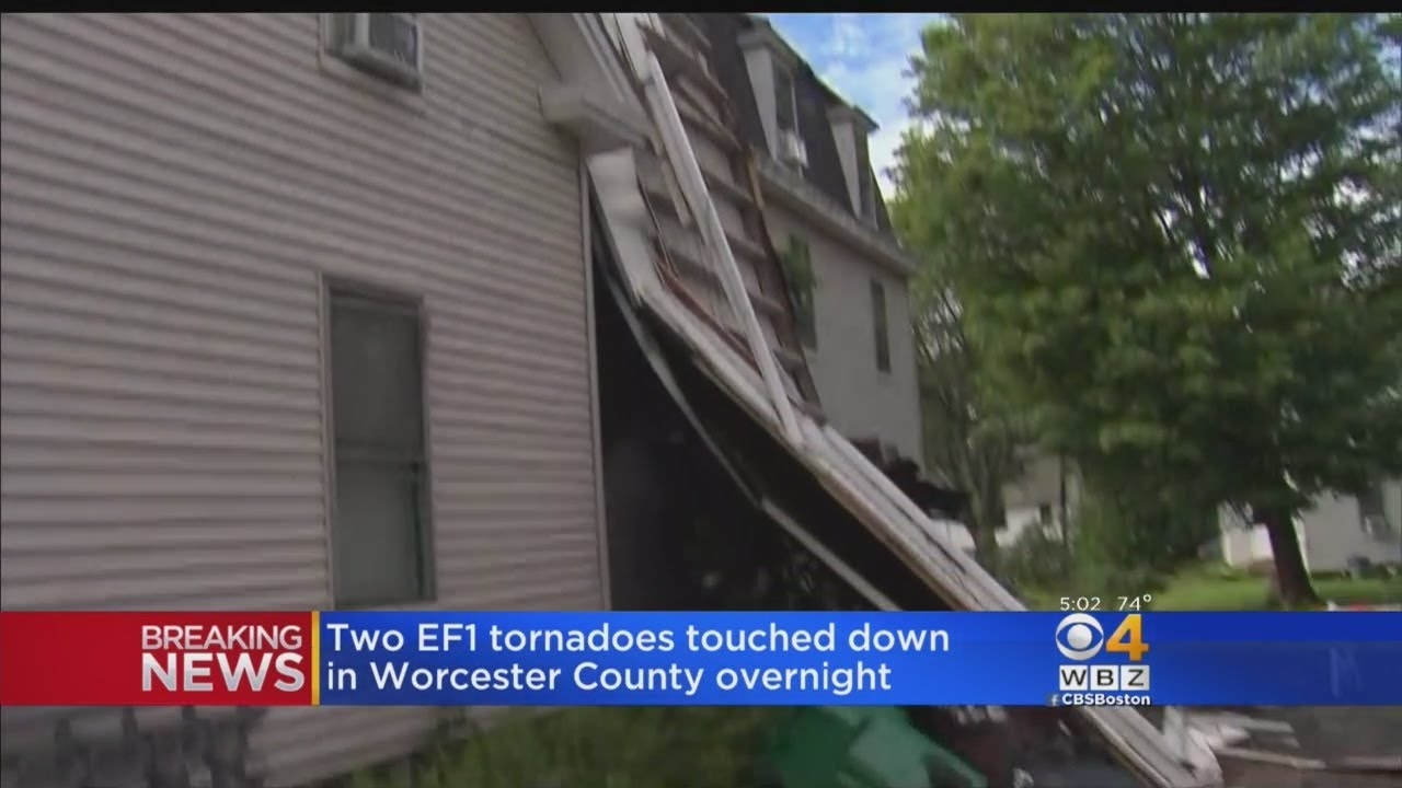 Cape Cod Battered by Rare and Terrifying Tornado That Touched Down in Multiple Locations