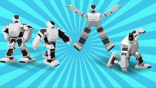 Танцующие роботы, говорящие роботы, роботы на колесах и другие роботы на Выставке роботов