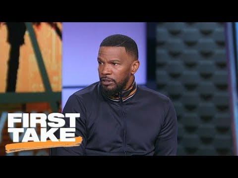 Jamie Foxx speaks on Colin Kaepernick and NFL national anthem protests  First Take  ESPN