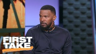 Jamie Foxx speaks on Colin Kaepernick and NFL national anthem protests | First Take | ESPN