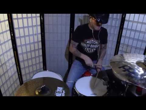 """Justin Moore - """"Between You And Me"""" Drum Cover"""