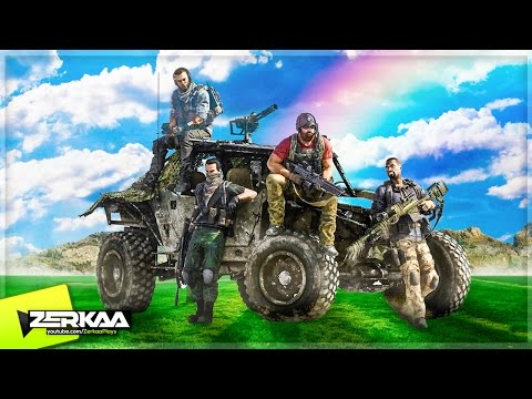 FUNNIEST KILLING SQUAD! (Ghost Recon: Wildlands Funny Moments)
