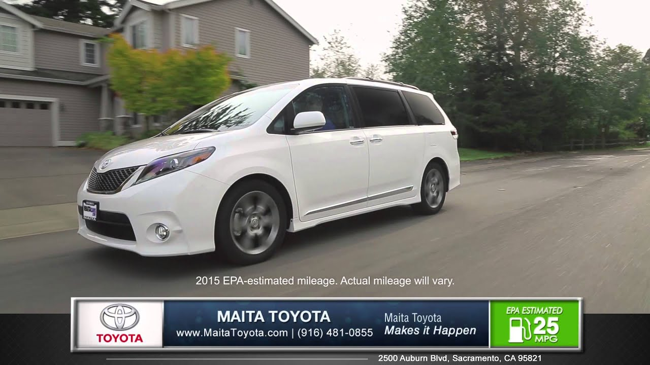 2015 toyota sienna car review maita toyota new used car