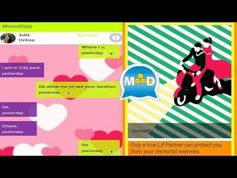 Android MooodApp Messanger Express your Feelings to others in chat