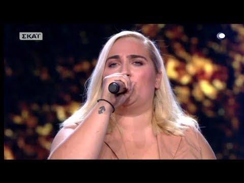The Voice of Greece 4 - Blind Audition - MYSTIKE MOY EROTA - Despoina Papadopoulou
