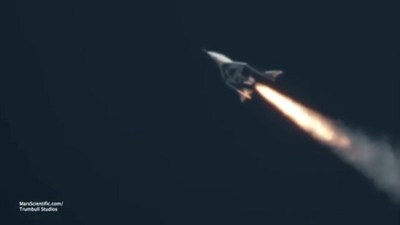 Virgin-Galactic-Raumflugzeug erreicht Weltraum