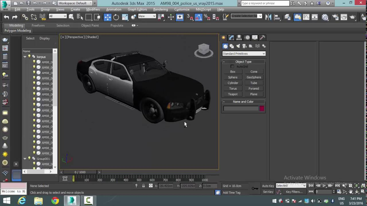 MadCar v and CityTraffic v for 3ds Max to Win