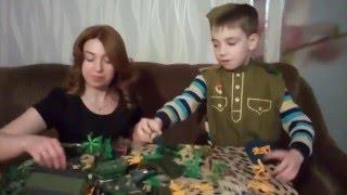 Домашние сражения игрушек ↑ Военные солдатики, танки, самолеты ↑ Обзор игрушек