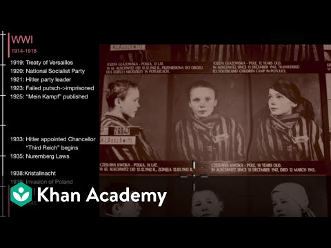The Holocaust  | World History | Khan Academy