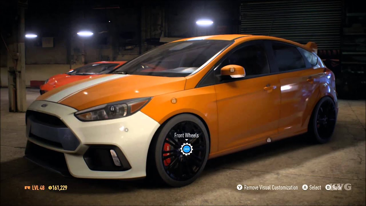 Need for speed 2015 ford focus rs 2016 tuning free roam gameplay xboxone hd 1080p youtube