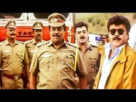 Vijayakanth Mass Scenes # Tamil Movie Best Action Scenes # Super Scenes # Vanjinathan Movie Scenes