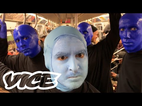 I Joined the Blue Man Group for A Day