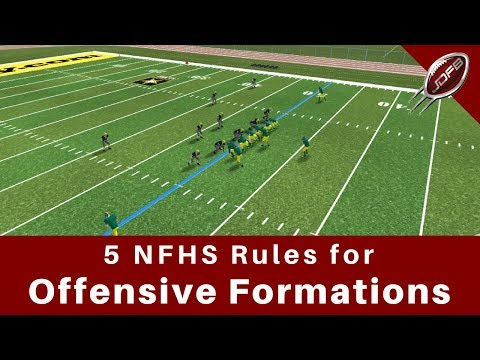 5 Rules For High School Football Formations Every Coach Must Know | Joe Daniel Football