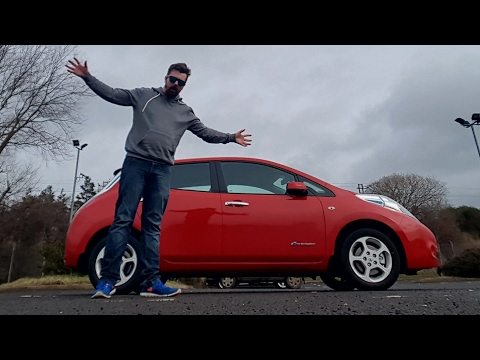 24hrs with an electric car 🤔 (2017 Nissan Leaf)