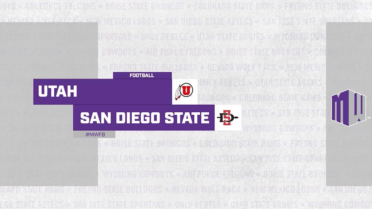 Download HIGHLIGHTS: Utah at San Diego State Football 9/18/21