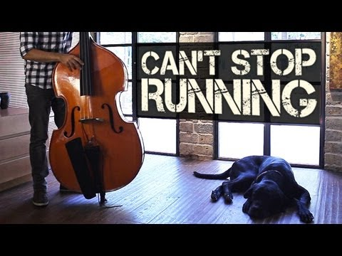 Can't Stop Running - Percussive Double Bass Solo - Adam Ben Ezra