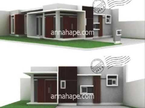 rumah minimalis 2 lantai atap beton yg sedang trend saat ini