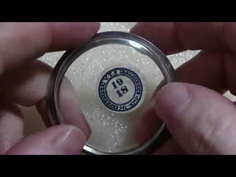 How I Install Crystal On A Pocket Watch Case Bezel