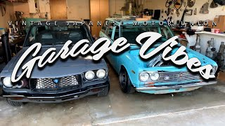 VJMU: Garage Vibes S01E01 - Savant Young (20B Swapped Datsun 510  Wagon)