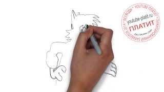 Ну погоди картинки заяц  Как правильно рисовать Ну погоди(Ну погоди. Как правильно нарисовать волка или зайца из мультфильма Ну погоди поэтапно. На самом деле легко..., 2014-09-11T17:35:24.000Z)
