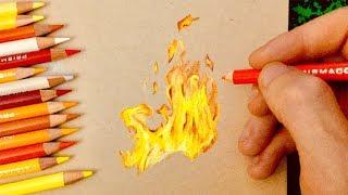 Comment dessiner du feu ?