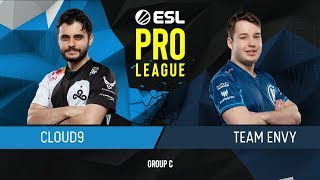 CS:GO - Cloud9 vs. Envy [Inferno] Map 1 - Group C - ESL Pro League Season 9 Americas