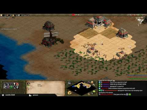 2v2 Archipelago with 8th_wonder vs dogao & miguelzin
