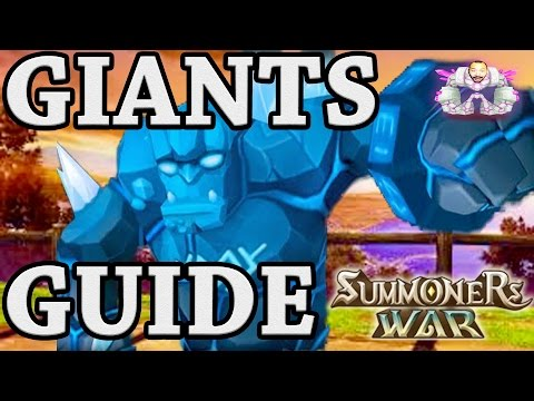 Summoners War: ULTIMATE GIANTS B1,B2,B3,B4,B5,B6,B7,B8,Skip B9,B10 Guide