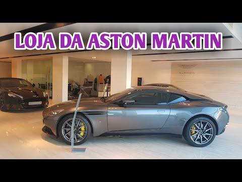 LOJA DA ASTON MARTIN EM CANNES NA FRANÇA - CVBR #292