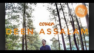 Deen Assalam - acoustic ( Male Version ) | Feri Firmansyah