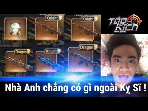 Tập Kích - Đại Gia NTD Lại Thử Vận Đen Với 8000KC , Chỉ Mong Trúng Mỗi Khẩu AK Dragon | F.A CHANNEL