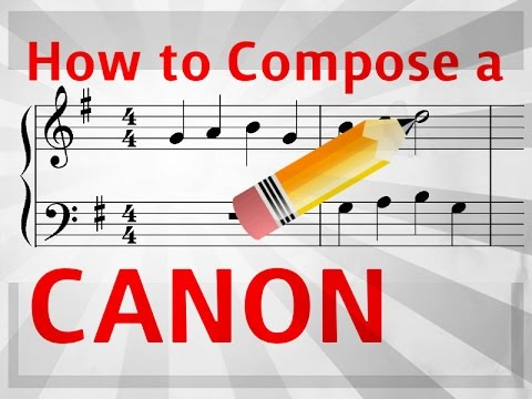 How to Compose a Canon or Round - [Easy music composition] - YouTube