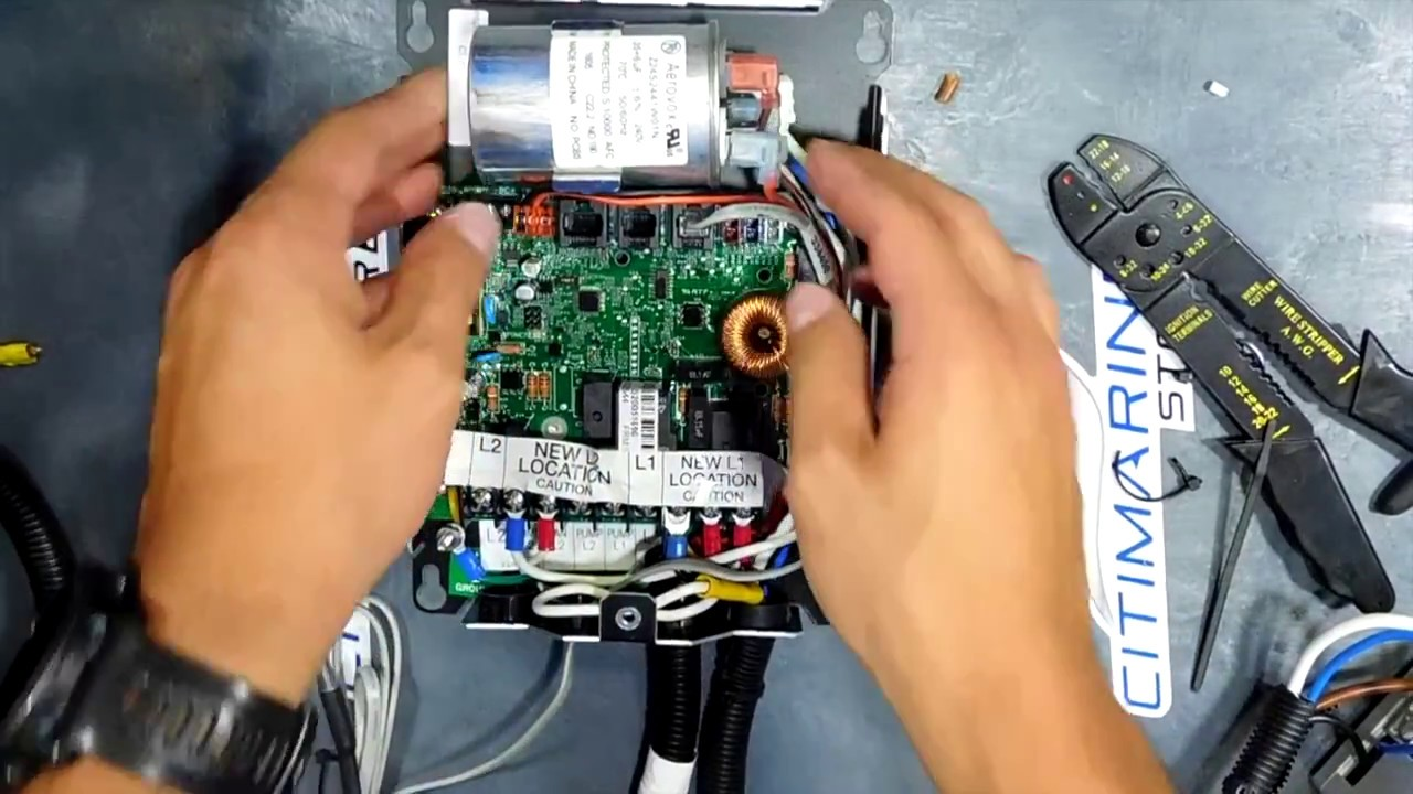 Connecting The Smart Start To Your Dometic / Cruisair Self-Contained on